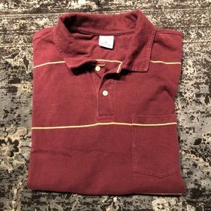 Old Navy | Burgundy Polo | Size Large